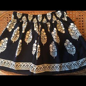 Loft Elastic Floral Dress Shorts